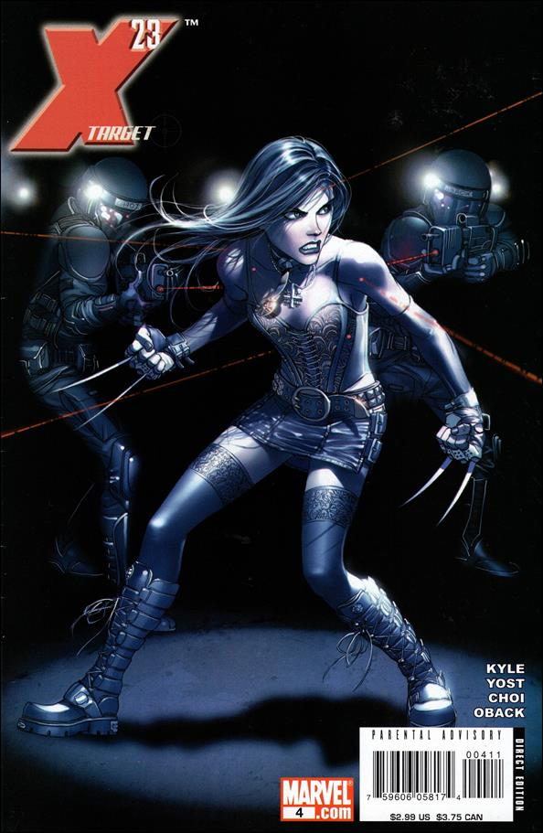 X-23: Target X 4-A by Marvel