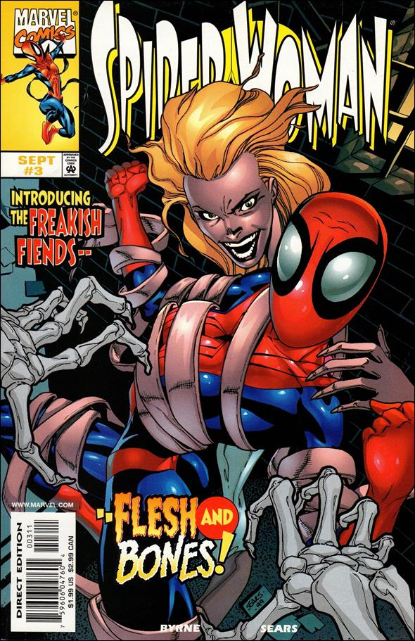 Spider-Woman (1999) 3-A by Marvel