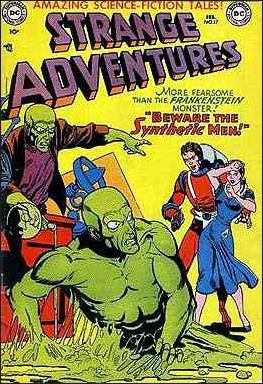 Strange Adventures (1950) 17-A by DC