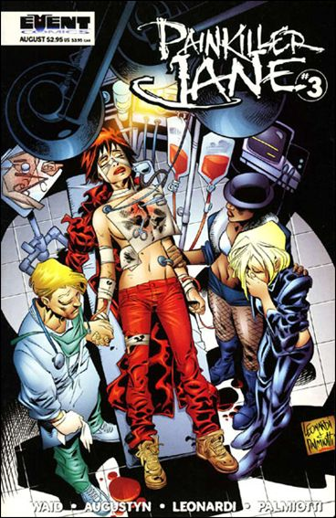 Painkiller Jane (1997) 3-A by Event Comics