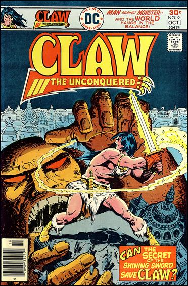 Claw the Unconquered (1975) 9-A by DC