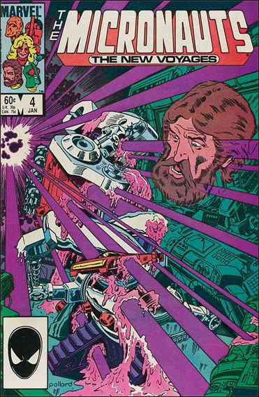 Micronauts (1984) 4-A by Marvel
