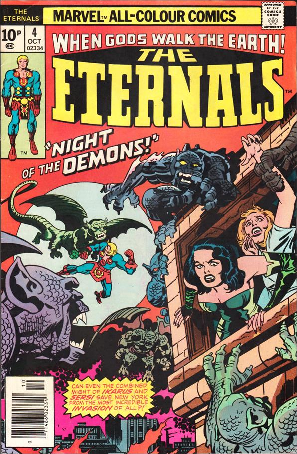 Eternals (1976) 4-B by Marvel