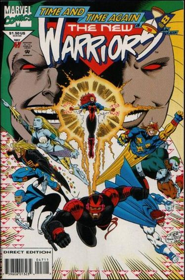New Warriors (1990) 47-A by Marvel