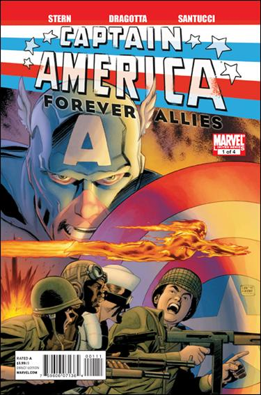 Captain America: Forever Allies 1-A by Marvel