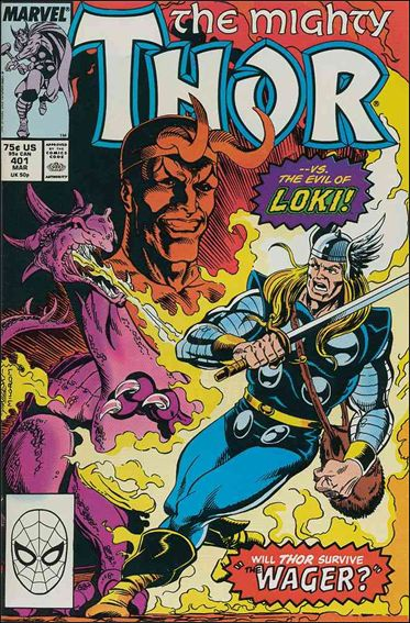 Thor (1966) 401-A by Marvel