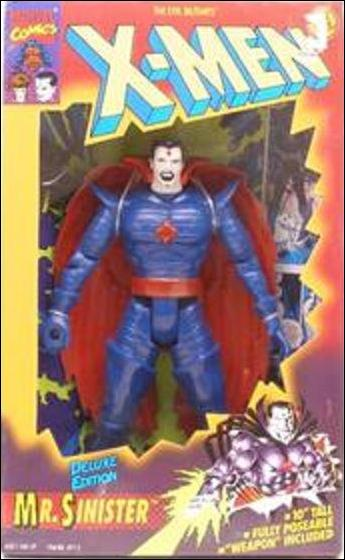 "X-Men Deluxe Edition 10"" Action Figures Mister Sinister by Toy Biz"