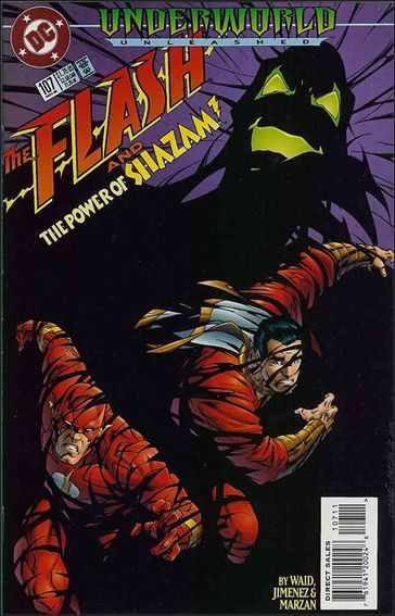Flash (1987) 107-A by DC