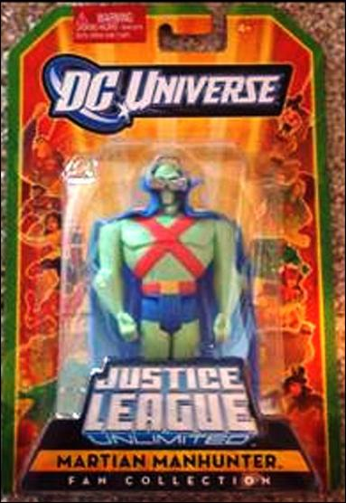 DC Universe: Justice League Unlimited Fan Classics Martian Manhunter by Mattel