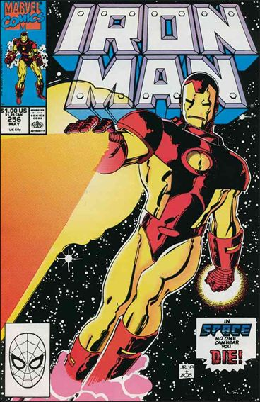 Iron Man (1968) 256-A by Marvel