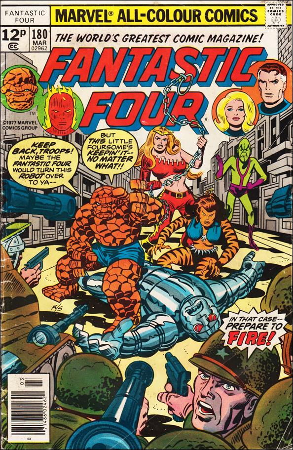 Fantastic Four (1961) 180-B by Marvel