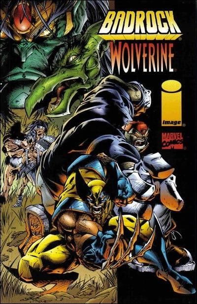 Badrock/Wolverine 1-A by Image