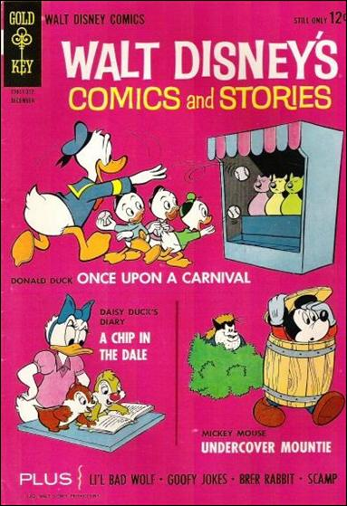 Walt Disney's Comics and Stories (1940) 279-A by Dell