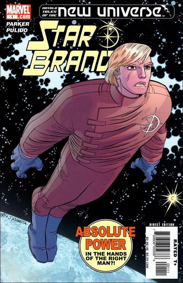 Untold Tales of the New Universe: Star Brand 1-A by Marvel