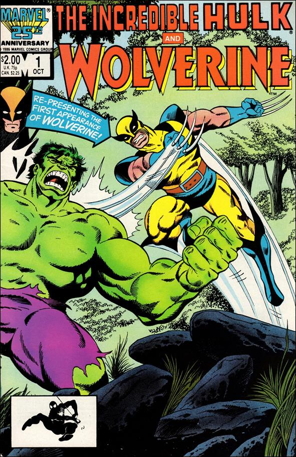 Incredible Hulk and Wolverine 1-A by Marvel