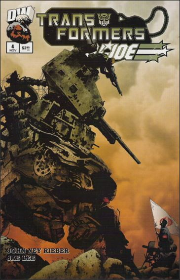 Transformers/G.I. Joe 4-A by Dreamwave