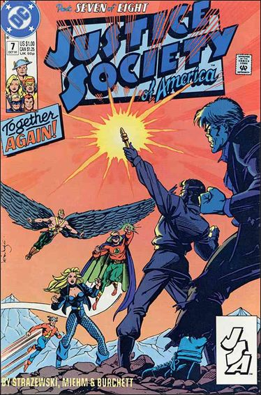Justice Society of America (1991) 7-A by DC