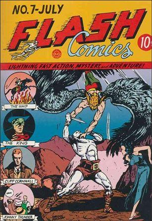 Flash Comics (1939) 7-A