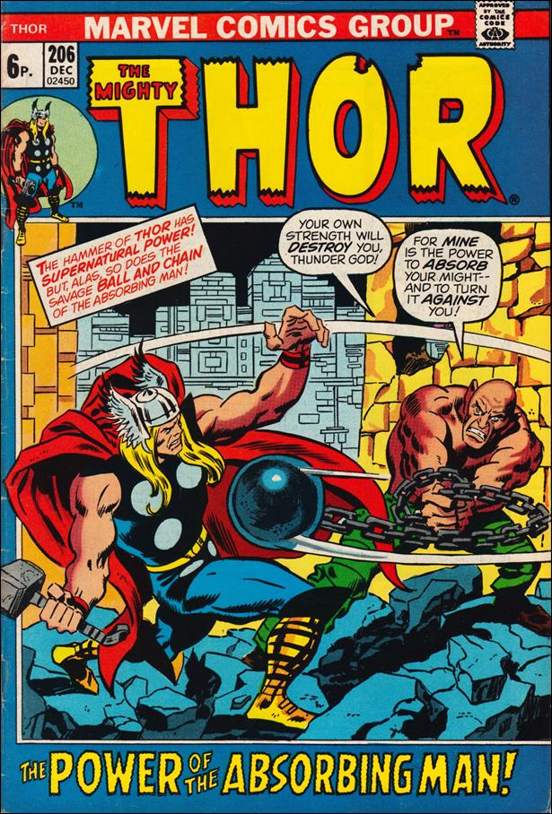 Thor (1966) 206-B by Marvel