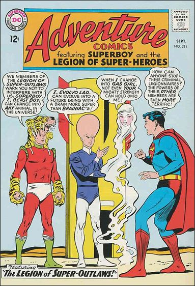 Adventure Comics (1938) 324-A by DC
