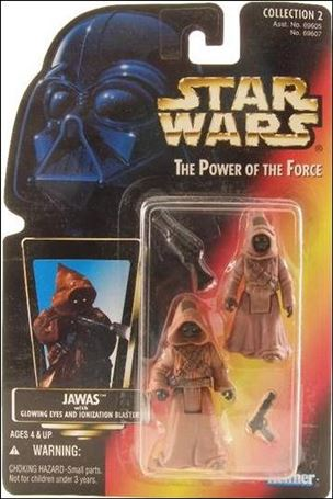 "Star Wars: The Power of the Force 2 3 3/4"" Basic Action Figures Jawas"