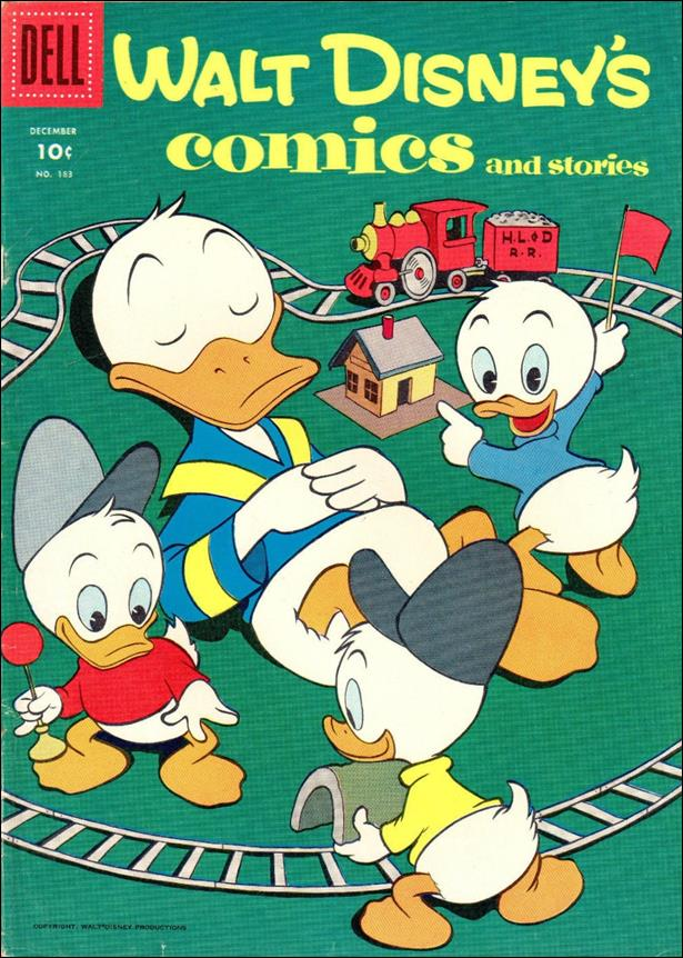 Walt Disney's Comics and Stories (1940) 183-A by Dell