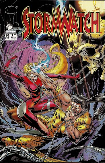 StormWatch (1993) 19-A by Image