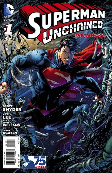 Superman Unchained 1-A by DC