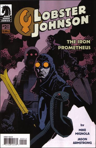 Lobster Johnson: The Iron Prometheus 2-A by Dark Horse