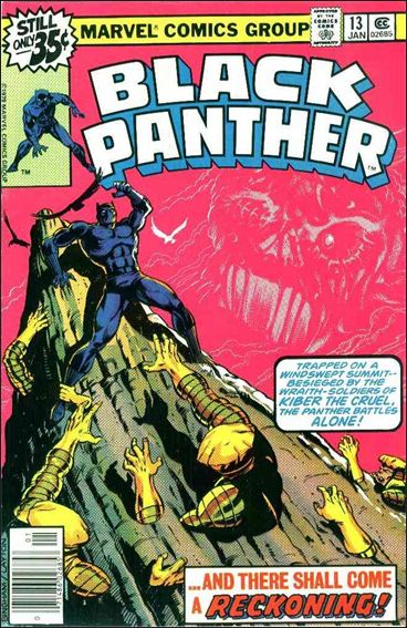 Black Panther (1977) 13-A by Marvel