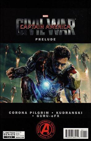 Marvel's Captain America: Civil War Prelude 1-A