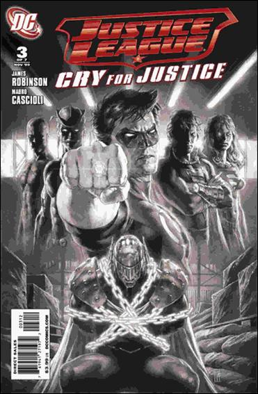 Justice League: Cry for Justice 3-B by DC