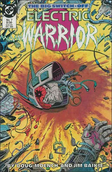 Electric Warrior 7-A by DC