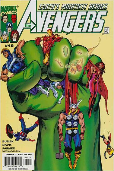 Avengers (1998) 40-A by Marvel