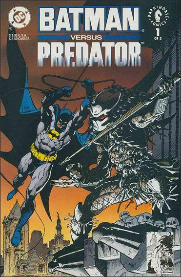 Batman Versus Predator 1-A by DC