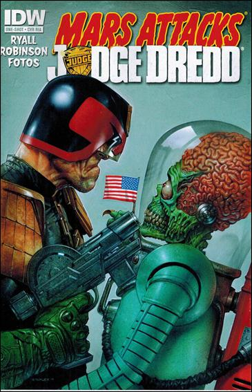 Mars Attacks Kiss One Shot-B by IDW