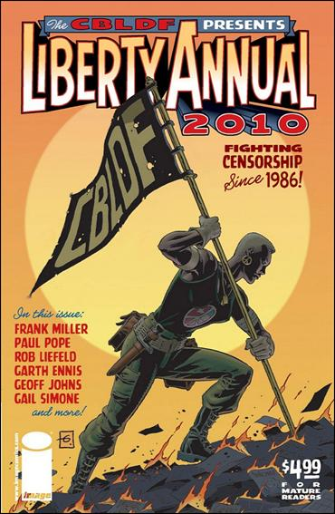 CBLDF Presents Liberty Annual 2010-A by Image