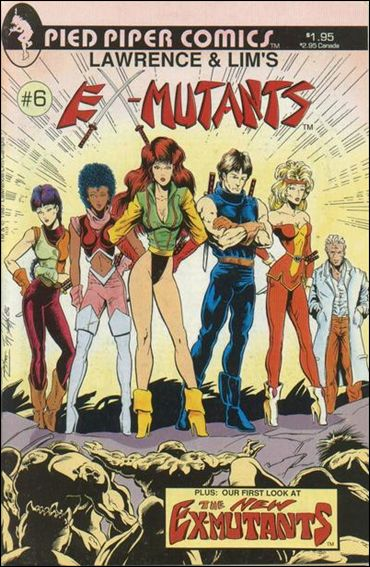 Ex-Mutants (1986) 6-A by Eternity