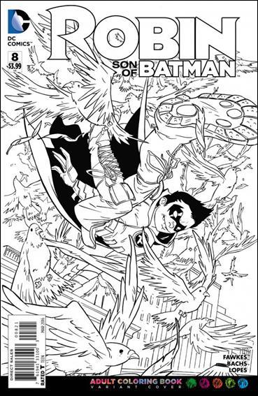 Robin: Son of Batman 8-B by DC