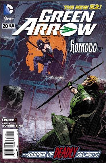 Green Arrow (2011) 20-A by DC