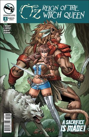 Grimm Fairy Tales Presents Oz: Reign of the Witch Queen 4-A