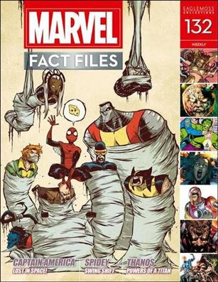 Marvel Fact Files 132-A