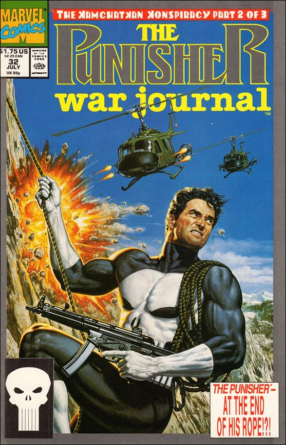 Punisher War Journal (1988) 32-A by Marvel