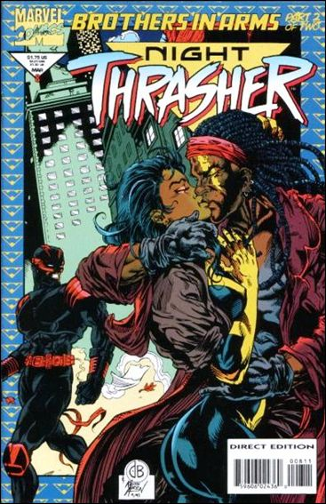Night Thrasher 8-A by Marvel