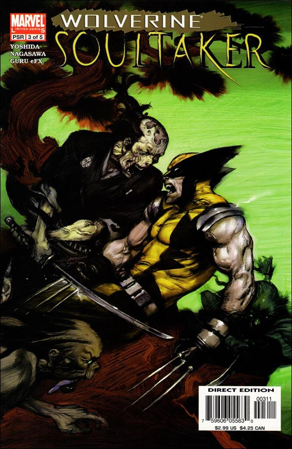 Wolverine: Soultaker 3-A by Marvel