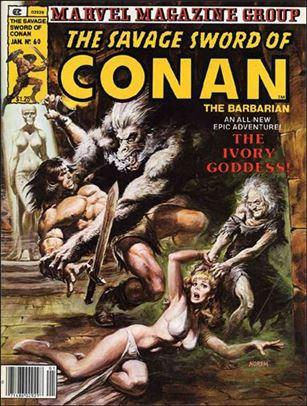 Savage Sword of Conan (1974) 60-A
