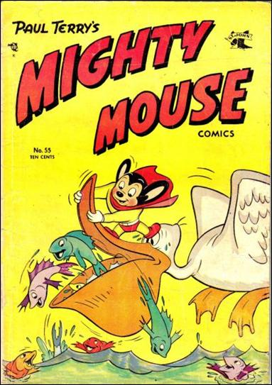 Mighty Mouse Comics 55-A by St. John