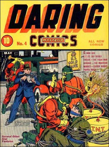 Daring Mystery Comics 4-A by Timely