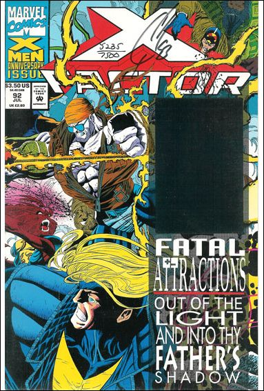 X-Factor (1986) 92-B by Marvel