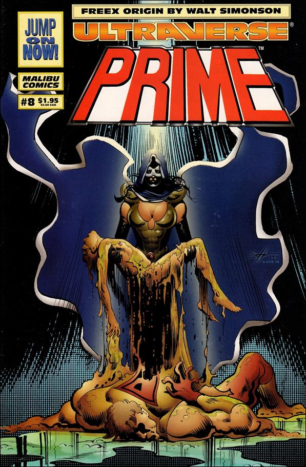 Prime (1993) 8-A by Malibu